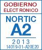 Sello de certificación de la A2:2013 con el NIU 14019-01-A20E20
